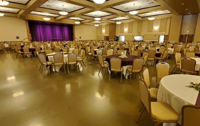 Nielsen Center Wedding Full Ballroom 2