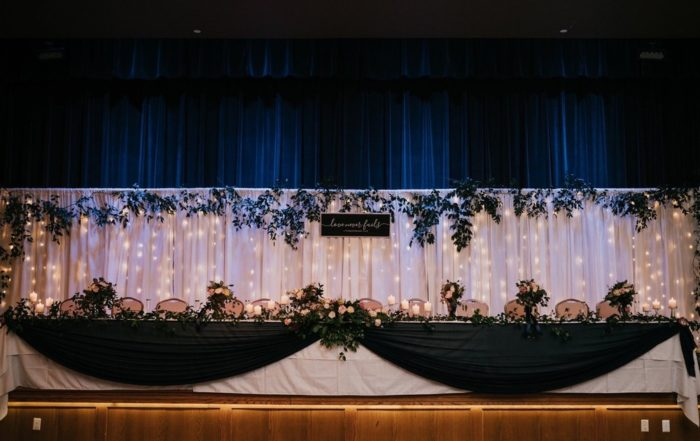 Nielsen Center Wedding Stage