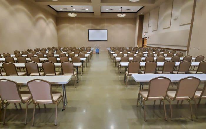 Ballrooms B+D - Classroom Style